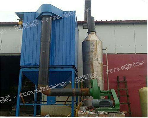 山东若雨2吨中频炉除尘器 铸造厂电炉除尘器