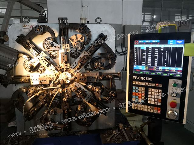 电脑弹簧机CNC502
