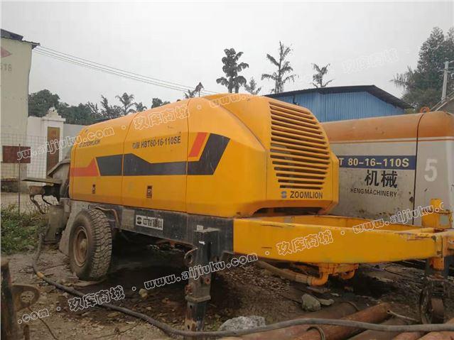 广西钦州2010年中联6016电拖泵,活少低价转让
