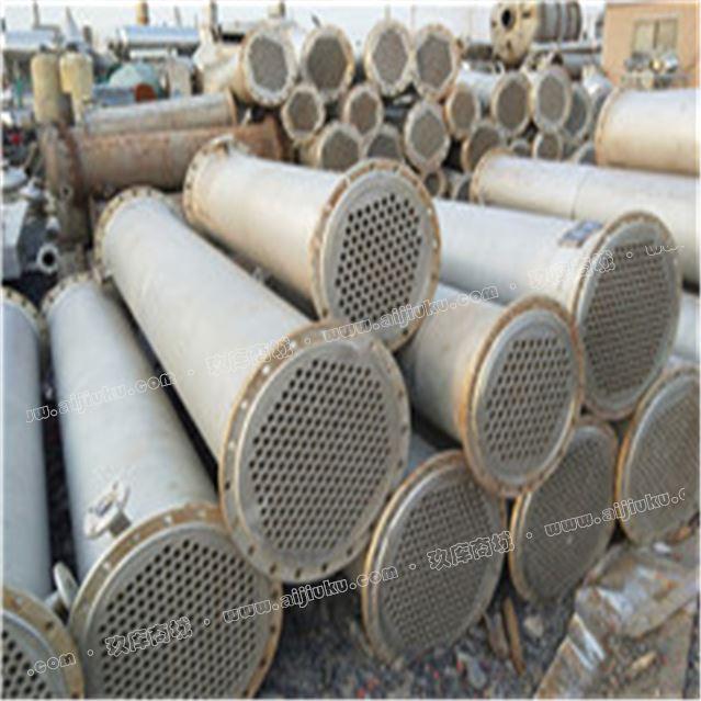 出售二手列管冷凝器 10-200平方不锈钢列管冷凝器 180