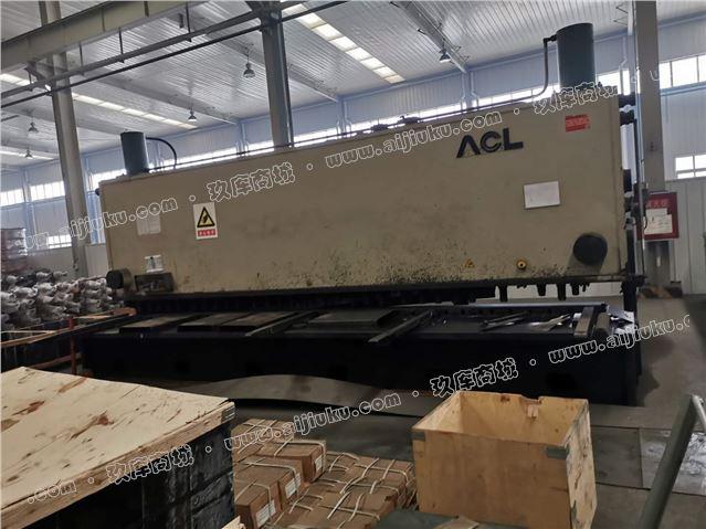 同款20x6米剪板机两台在位出售