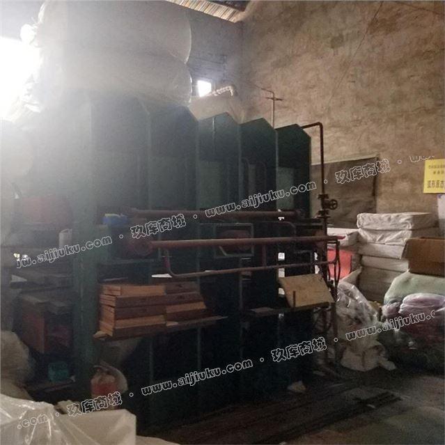 出售二手竹地板热压机 安吉华森产3层竹地板热压机