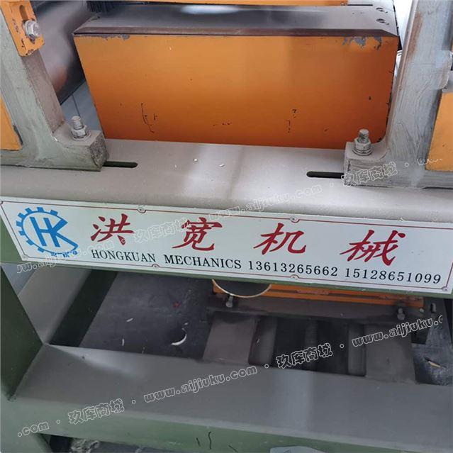 出售生态板自动锯边机文安洪宽产36/48尺可调全自动锯边机