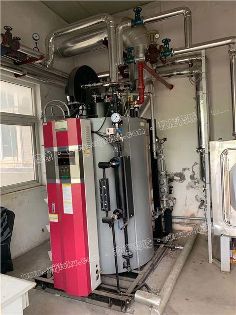 出售一吨燃气 苏州三浦蒸汽锅炉一台