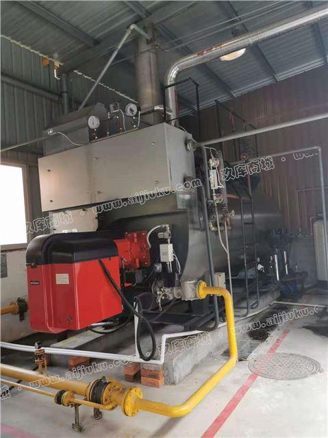 出售四吨冷凝式燃气蒸汽锅炉 燃烧机芬兰奥林