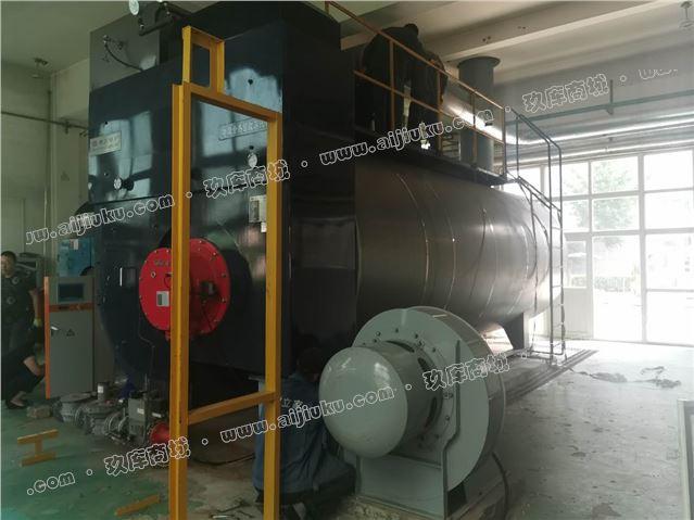 出售八吨冷凝式扬州斯大锅炉一台 热效率108