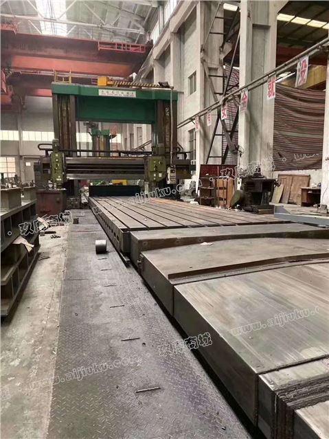 机械厂急售二手力通LTX-11035双柱龙门铣镗床