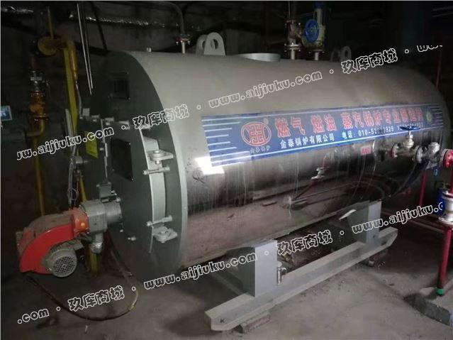 出售0.5吨燃气蒸汽锅炉一台