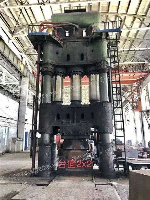 加工厂低价出售二手【沈阳三重4000吨自由锻造液压机】