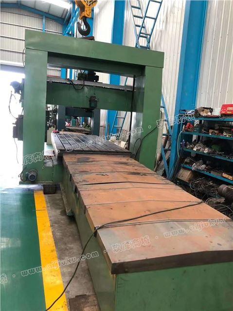 机械厂急售二手上海大发1.6x4米龙门铣床