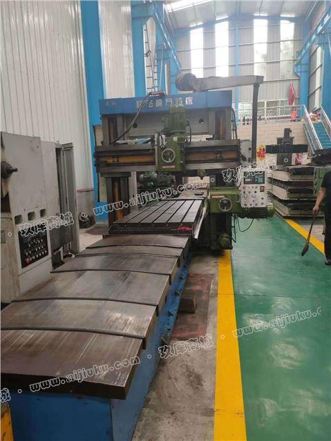 工厂转型出售二手上海陵城XY16精密龙门铣滚珠丝杠