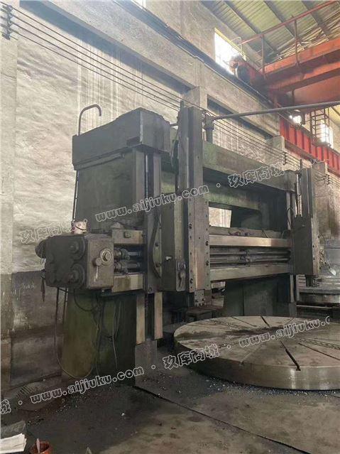 机械厂急售二手芜湖恒升CQ5240双柱立式车床