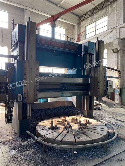 机械厂急售二手齐重C5225Ex16-10双柱立式车床