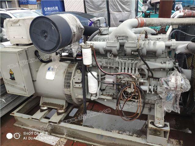 韩国大宇250kw二手发电机组出售