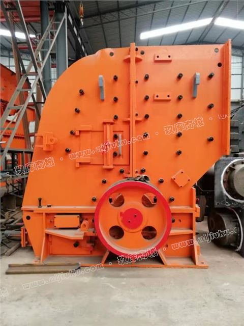二手日产3000吨砂石料生产线zfc250型二合一破碎机处理