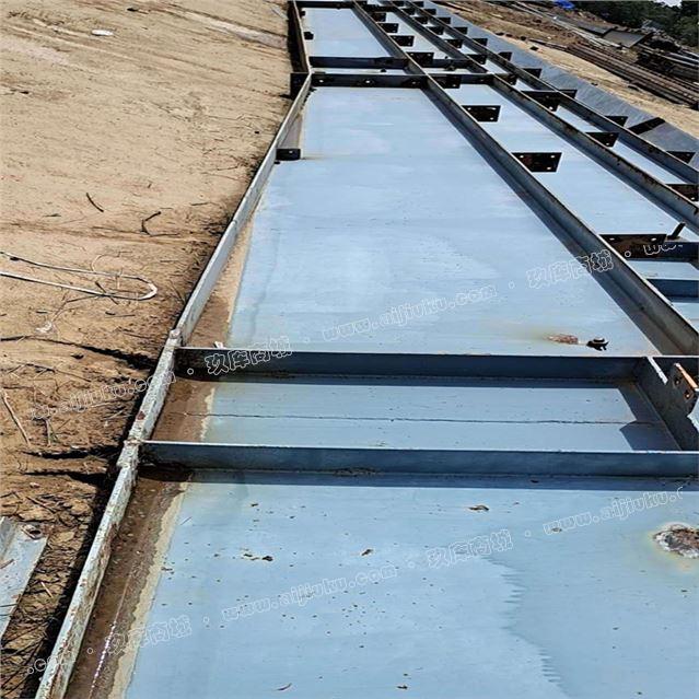 二手63米宽98米长8.7米高钢结构厂房