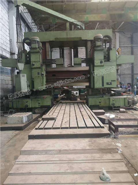 工廠轉型出售二手俄羅斯2.5x6米龍門鏜銑床
