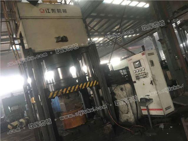 高价回收江东YJS61-1600挤压液压机