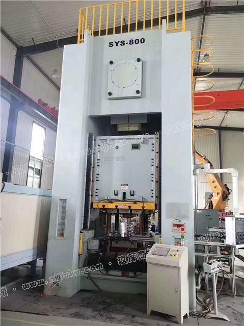 机械厂急售二手扬州双赢SYS-800闭式单点压力机