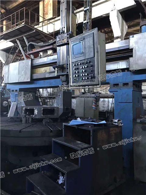 机械厂急售二手齐齐哈尔4米定梁数控立车