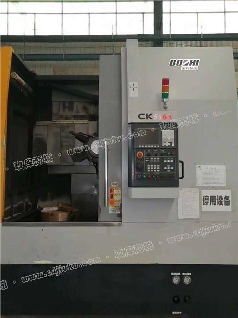 机械厂急售二手宝鸡CK516A数控立车发那科系统