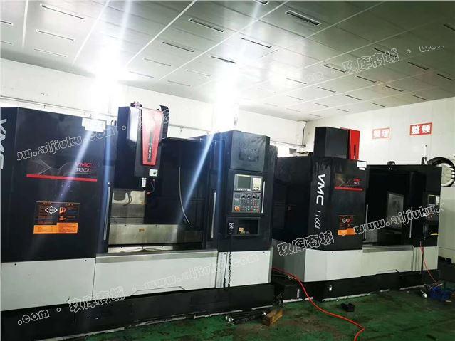 高价回收创胜特尔VMC1160L数控铣带油冷机发那科MF系统