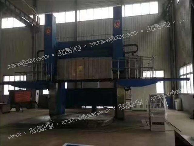 机械厂急售二手齐重DVT500-25-32数控双柱立式车床