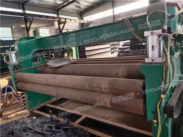 出售二手20x2500钢板校平机一台,湖北鄂重产