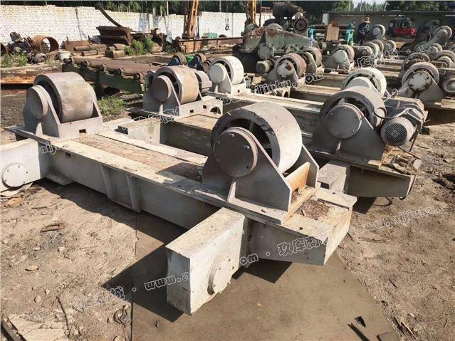 出售80吨行走滚轮架4套,风电塔筒专用